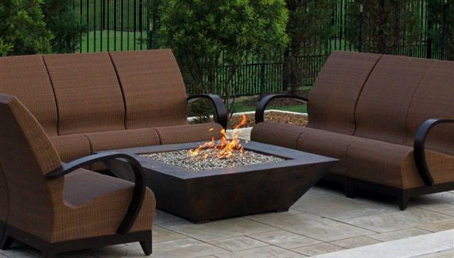 copper grand corinthian fire pit table orlando