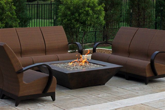 copper grand corinthian fire pit table orlando