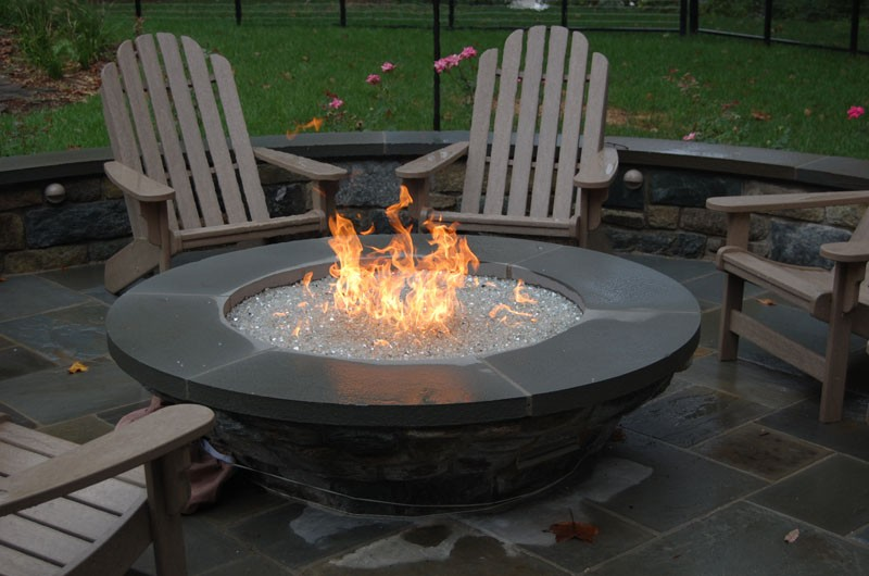 orlando outdoor fire pit table