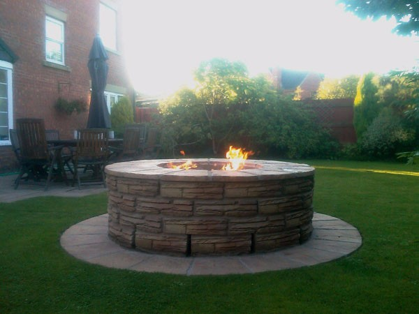 gas fire pit propane refill central florida