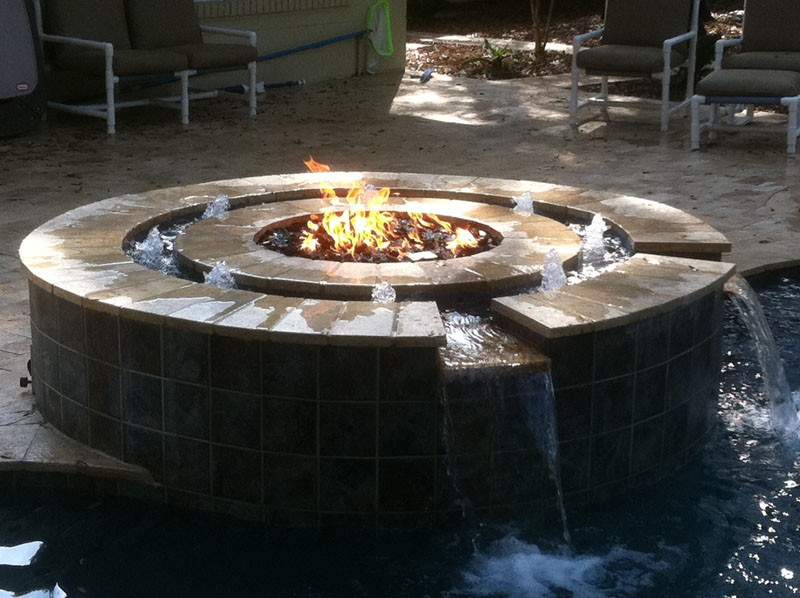 fire pit propane refill and service